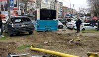 Beyazıt'ta yayalara çarpan halk otobüsü şoförüne tutuklama talebi