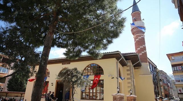 Kocaelideki 487 yıllık tarihi cami yeniden ibadete açıldı