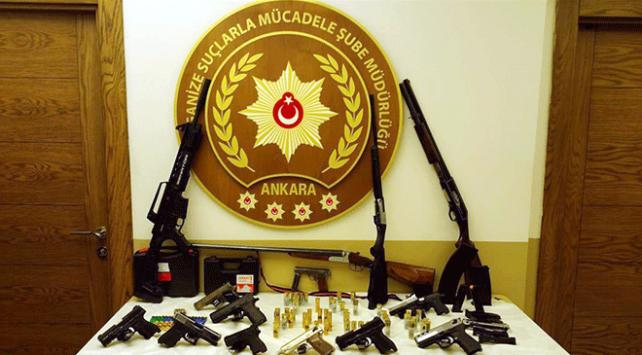Ankarada haraç çetesi çökertildi