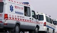 Çin'de yolcu otobüsü yandı: 26 ölü