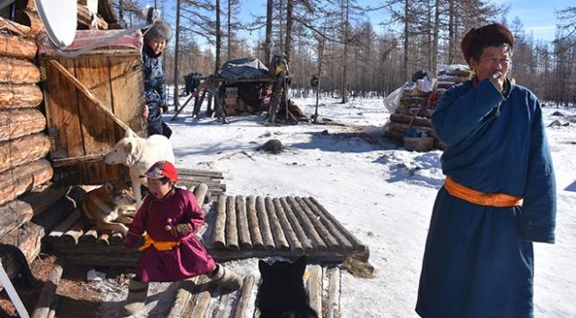 Issız ormanlarda geyikleriyle yaşayan Türkler: Dukhalar
