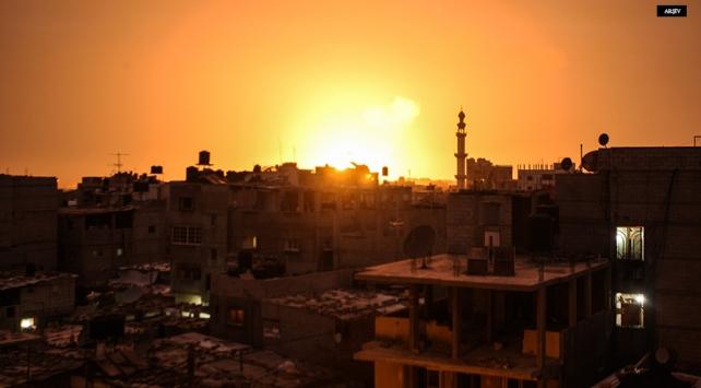 Gazzeye hava saldırısı: 3 yaralı