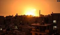 Gazze'ye hava saldırısı: 3 yaralı