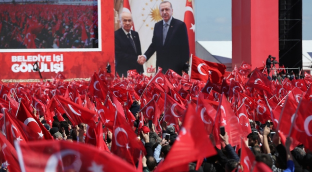 Cumhur İttifakının Büyük İstanbul Mitingi başladı