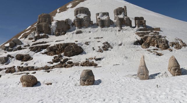 Dünya mirası Nemrut sezonu açtı