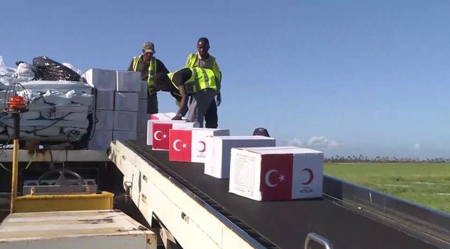 Türk yardım kuruluşları Mozambike ulaştı