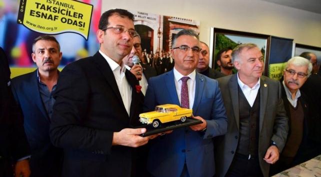 CHPnin İstanbul adayı İmamoğlu: Ben taksicinin yanındayım
