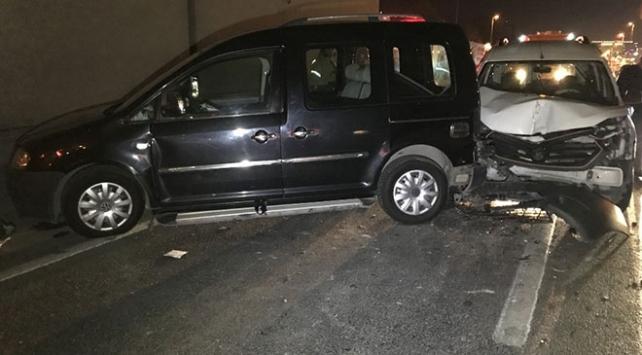 Zeytinburnunda trafik kazası: 5 yaralı