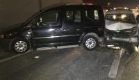 Zeytinburnu'nda trafik kazası : 5 yaralı