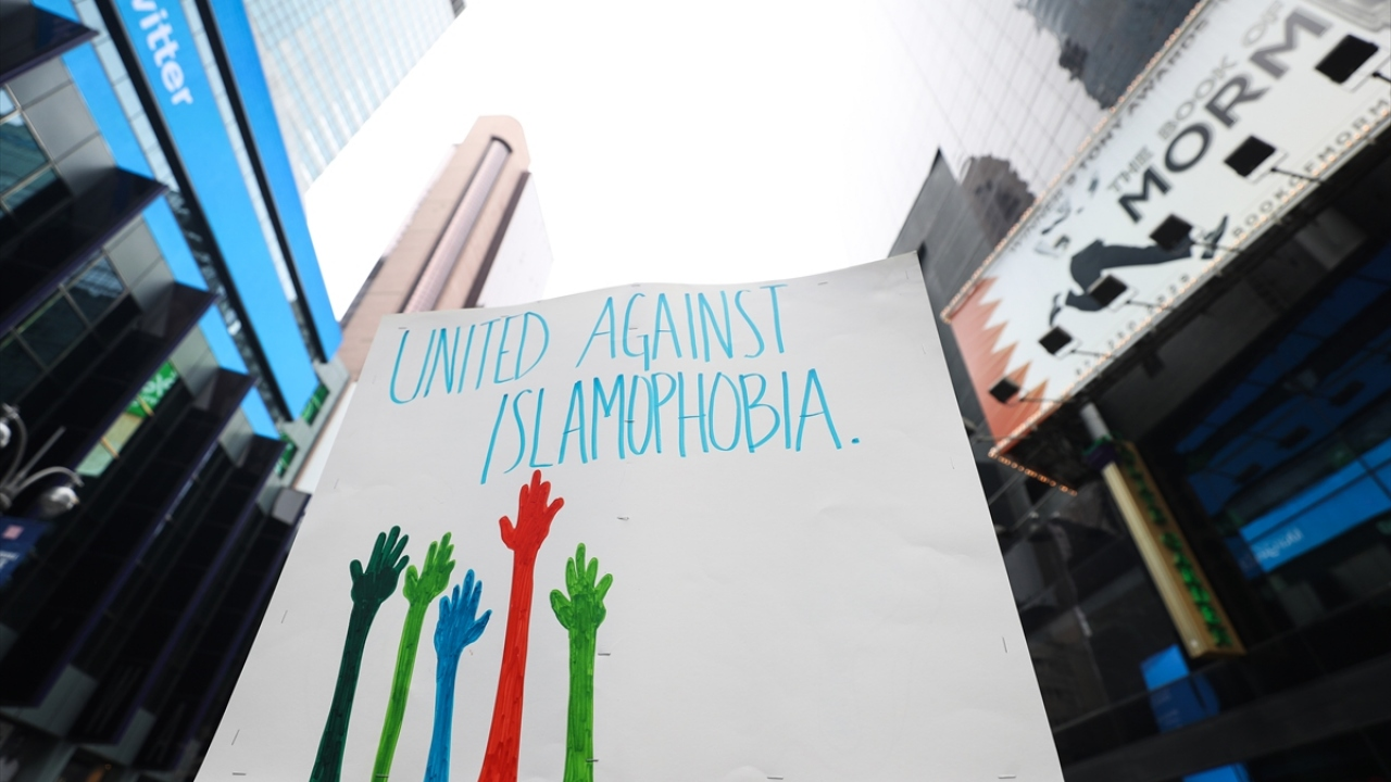 New Yorkta İslamofobiye karşı birlik protestosu