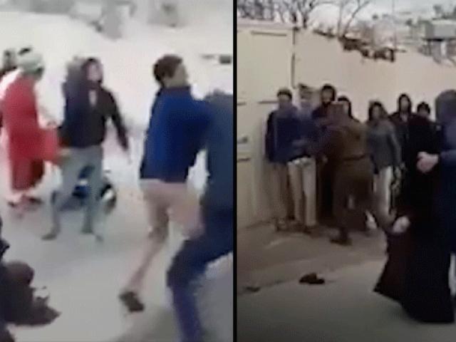 Yahudi yerleşimciler El-Halil'de yaşlı bir kadın ve oğluna saldırdı
