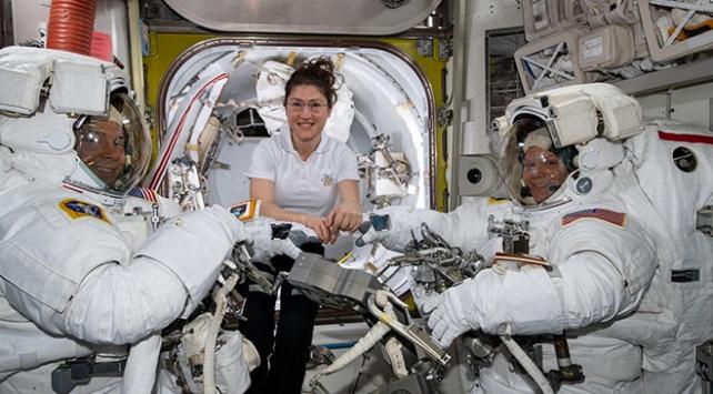 NASAda kadınların uzay yürüyüşü kıyafet krizi nedeniyle iptal edildi