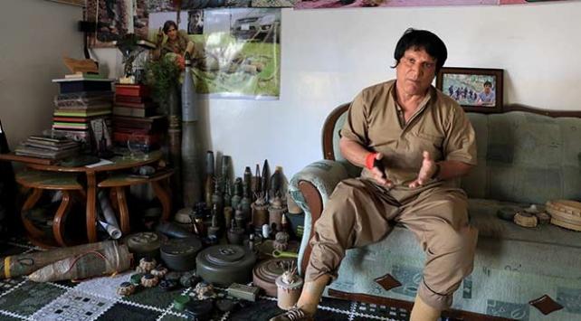 2 bacağını mayınlarda kaybeden Halepçeli Ali, hayatını mayın imha etmeye adadı