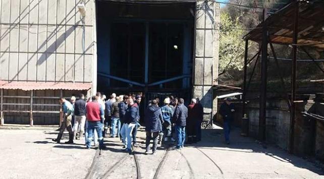 Zonguldakta maden ocağında göçük: 4 yaralı