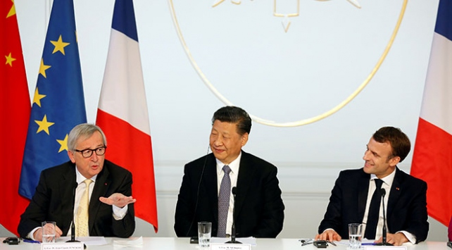 Fransada AB-Çin toplantısı