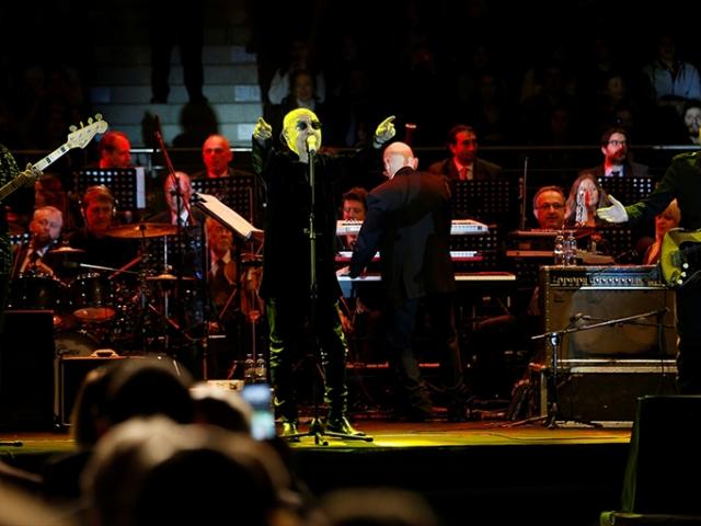 Cumhurbaşkanlığı Senfoni Orkestrası ve MFÖ aynı sahnede buluştu