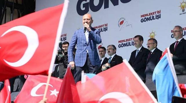 Bakan Soylu: Kandildeki harekatla teröristlere güzel bir seçim hediyesi verdik