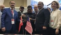 Malezya polisinin tabancası Türkiye'den