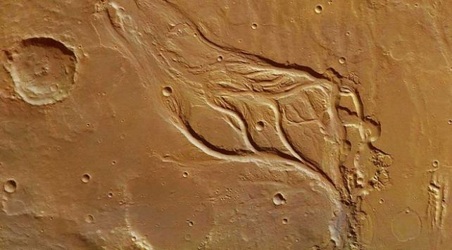 Mars bir zamanlar akan nehirlere sahipti