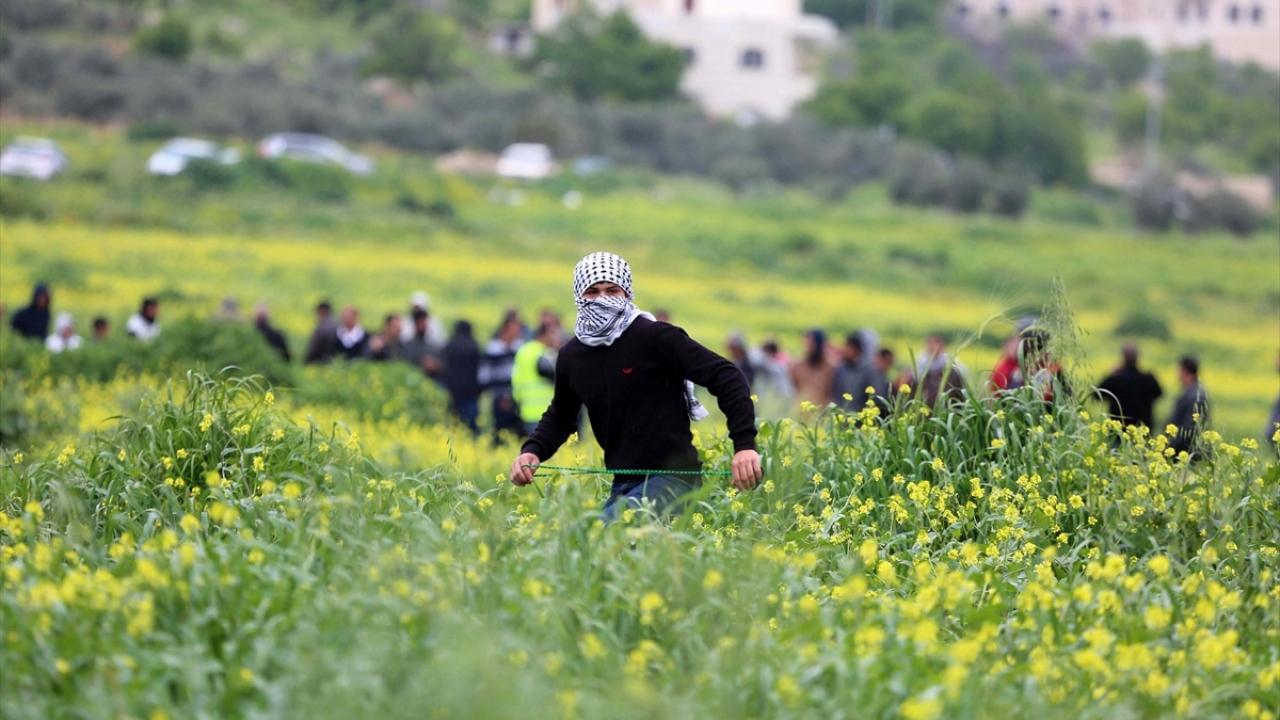 """Filistinde """"Toprak Günü""""nün 43. yıl dönümü"""