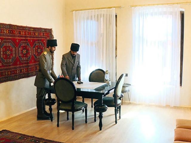 TİKA Nuri Paşanın kaldığı evi müzeye dönüştürdü