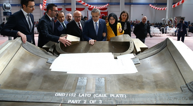 Ankara Uzay ve Havacılık OSBye ilk fabrika açıldı