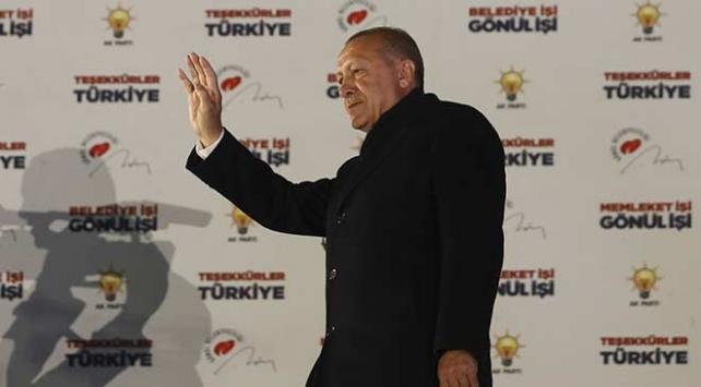 Cumhurbaşkanı Erdoğan: Milletimiz bizi 15. defa sandıkta birinci yaptı