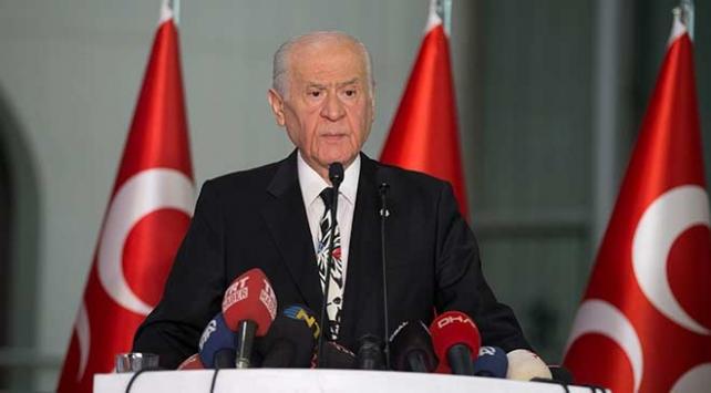 MHP Genel Başkanı Bahçeli: Cumhur İttifakının ruhu seçimlere damga vurmuştur