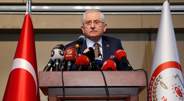 YSK Başkanı Sadi Güven İstanbuldaki son durumu açıkladı