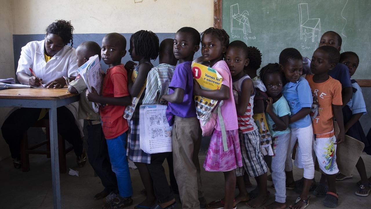Türk Kızılaydan Mozambikte 233 aileye gıda yardımı