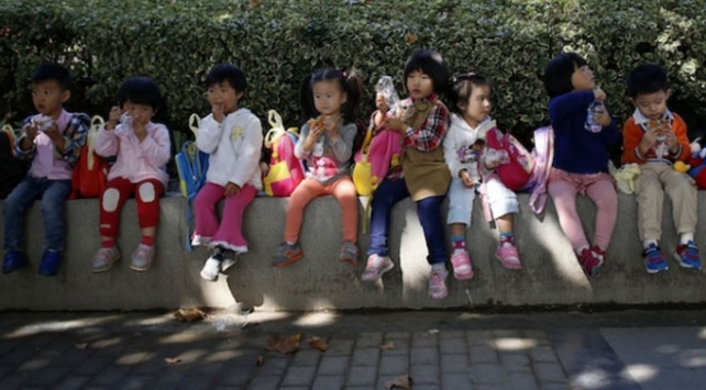 Çinde kreşte çocukları zehirlediğinden şüphelenilen öğretmen gözaltına alındı