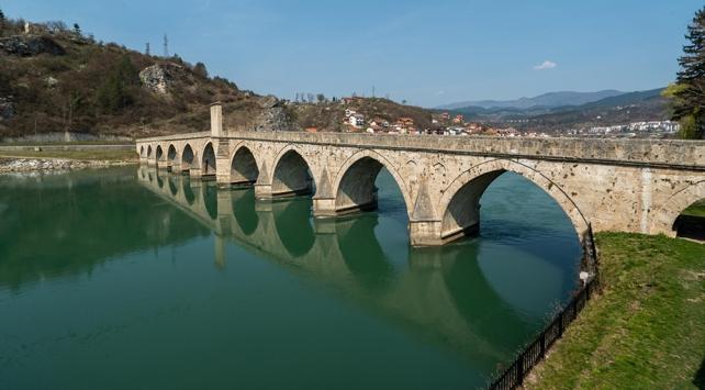 Sokollu Mehmed Paşa Köprüsünün restorasyonu resmen tamamlandı
