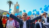 Balonlar 'otizm farkındalığı' için havalandı