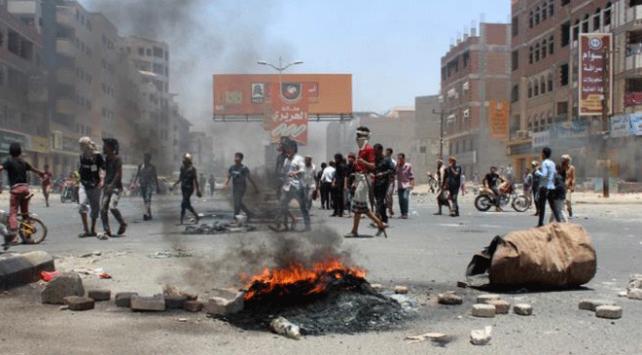 Yemende BAE destekli güçlere karşı protesto