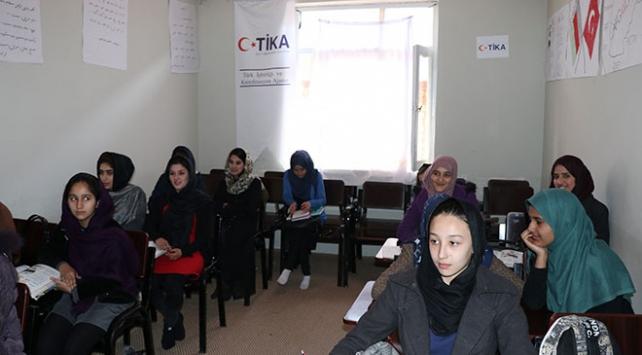 TİKAdan Afgan kadınlara meslek edindirme kursu