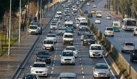 Trafikteki toplam taşıt sayısı 74 bin 715 arttı