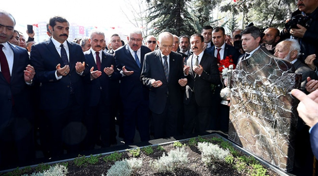 Alparslan Türkeş vefatının 22. yılında anıldı