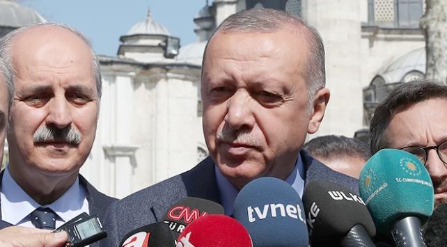 Cumhurbaşkanı Erdoğan: Seçim süreci bitti, şimdi mahkeme süreci var