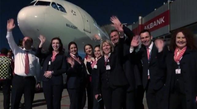 Atatürk Havalimanından son iç hat uçuşu