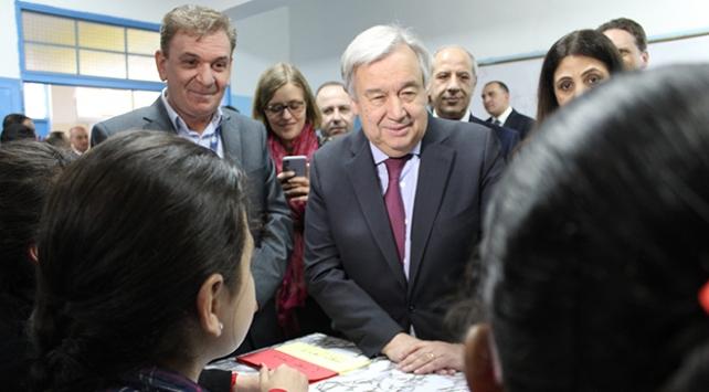 BM Genel Sekreteri Guterresten Ürdündeki Beka kampına ziyaret