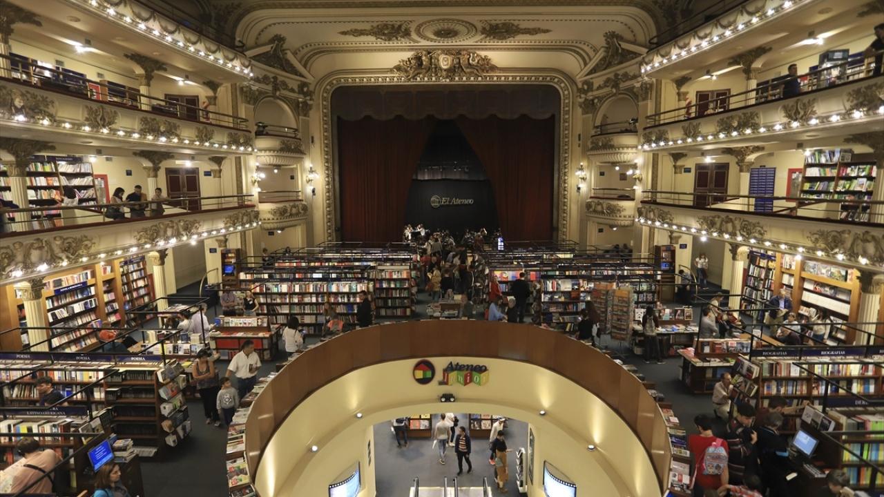 Arjantindeki El Ateneo Grand Splendid Kitabevi