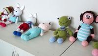 Lösemili çocuklar için organik oyuncaklar