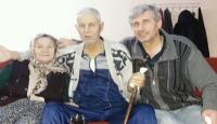 Sevgileriyle örnek olan yaşlı çift yan yana toprağa verildi