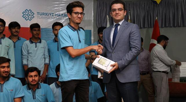 TİKA ve Türkiye Maarif Vakfından Pakistana eğitim desteği