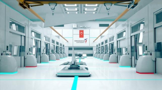 Uçak ve helikopterlerin yapısal parçaları Ankarada üretilecek