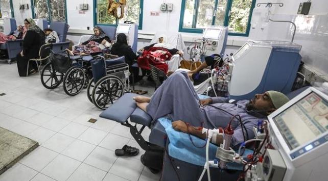 Gazzede böbrek hastalarının ilacı tükenmek üzere