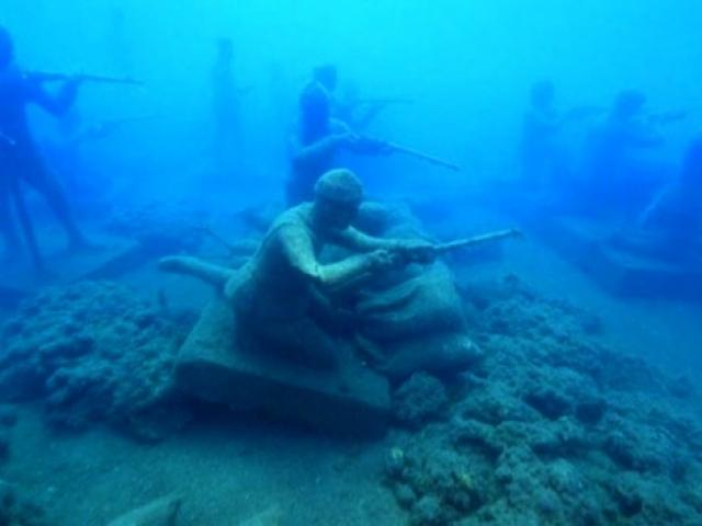 Türkiyenin ilk su altı müzesi Sidede