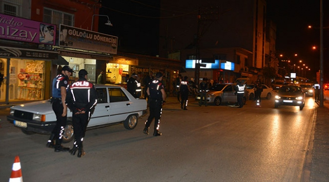 Adanada bin 275 polis ile hava destekli asayiş uygulaması