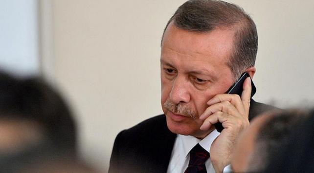 Cumhurbaşkanı Erdoğandan Can Bartunun eşine taziye telefonu