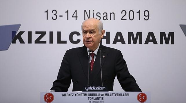 MHP Genel Başkanı Bahçeli: İstanbulda seçimlerin yenilenmesi en mantıklı yoldur